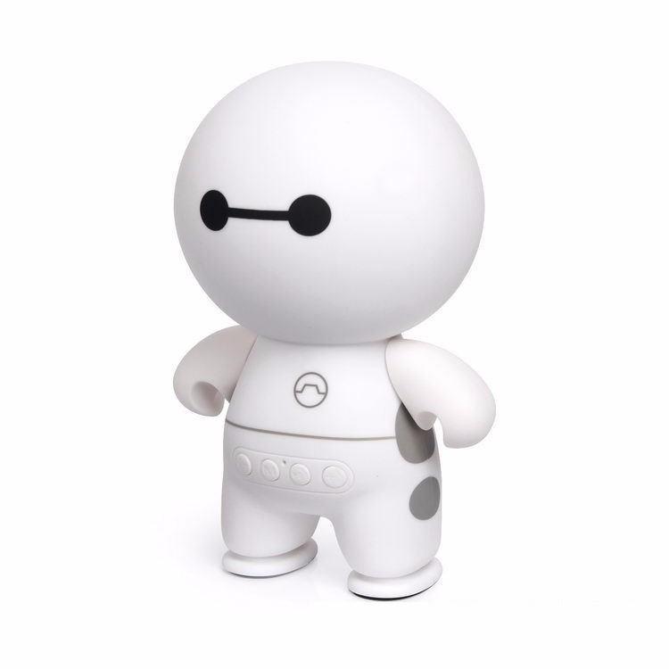 Loa Music A9 Bluetooth Mini Hình Robot Big Hero (Trắng)