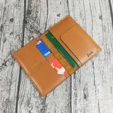 Ví passport da bò, ví đựng hộ chiếu, bao da passport, vỏ bao hộ chiếu da bò handmade -PP831