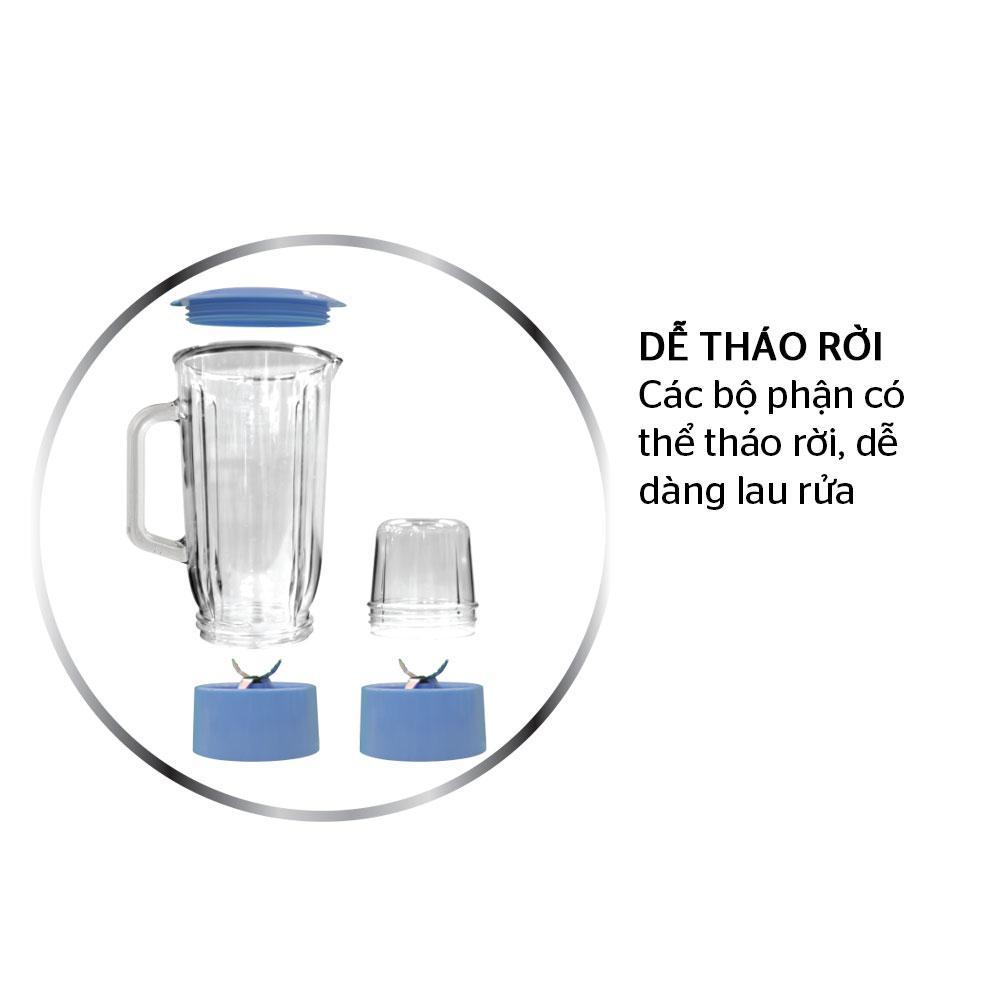 Nơi bán Máy xay sinh tố đa năng SUNHOUSE Happy Time HTD5113G xanh giá rẻ  319.000₫