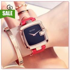 Đồng hồ nữ Đồng hồ nữchính hãng GUOU 8190 thiết kế đơn giản, sang trọng, phong cách
