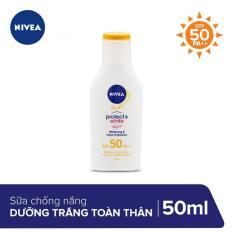 Sữa Chống Nắng Và Dưỡng Trắng Da Toàn Thân Nivea SPF50 PA++ 50ml _ 85797