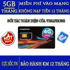 Sim 4G Vinaphone Vào Mạng Trọn Gói 1 Năm Miễn Phí Không Nạp Tiền
