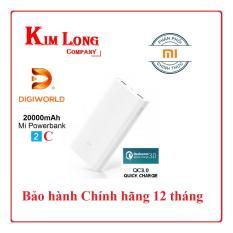 Pin dự phòng Xiaomi 20000 mAh Gen 2C Phiên bản mới nhất – Digiworld phân phối chính thức