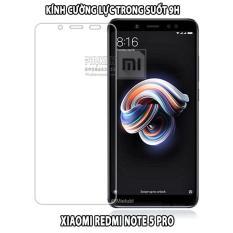 (MUA 1 TẶNG 1) Kính cường lực dành cho máy Xiaomi Redmi Note 5 / Note 5 Pro Trong Suốt