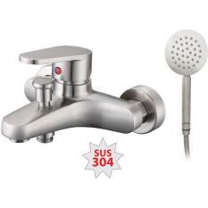 Bộ vòi sen tắm nóng lạnh + tay sen inox 304 PR-322