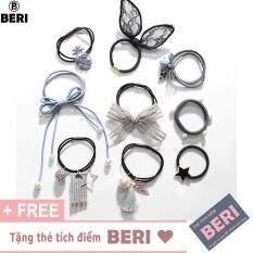 Phụ kiện tóc nữ Hàn quốc (9 món) BERI 044-045