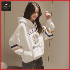 Áo hoodie nữ form rộng phong cách Hàn Quốc HH1811