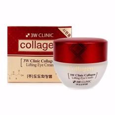 Chỗ nào bán Kem dưỡng chống lão hóa bổ sung collagen vùng da mắt 3W Clinic Collagen Lifting Eye Cream 35ml