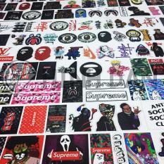 Bộ Sticker Chủ Đề Hypebeast, Bape, Supreme, Off White (2019) Hình Dán Decal Chất Lượng Cao Chống Nước Trang Trí Va Li Du Lịch, Xe Đạp, Xe Máy, Laptop, Nón Bảo Hiểm, Máy Tính Học Sinh, Tủ Quần Áo, Nắp Lưng Điện Thoại