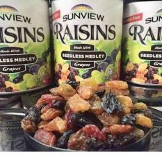 Nho khô hỗn hợp Sunview Raisins Mỹ 425g