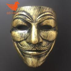 Mặt nạ Hacker mặt nạ Anonymous – màu vàng mắt xanh