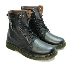giày bot nam cao cổ da bò