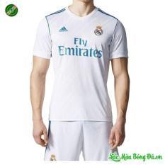 Quần áo bóng đá sân nhà Real Madrid màu trắng 2017 2018