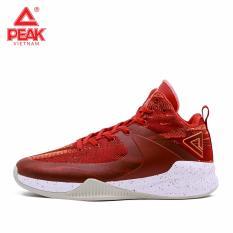 Giày bóng rổ PEAK Rising Star 2018 E83061A – Đỏ Cam