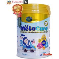 [Mẫu mới] Sữa Meta Care 3 Olive 900g