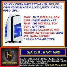 CASE G4560 RAM 16G GTX 750Ti 2Gb