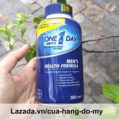 Vitamin tổng hợp cho nam giới Viên uống vitamin One A Day Men's Multivitamin Health Formula, 300 viên