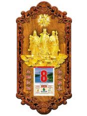 Lịch gỗ treo tường Phúc Lộc Thọ 3DP9_PLT