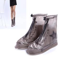 Bao Giày Đi Mưa – Áo Mưa Giày Dép Thời Trang Bằng Cao Su – 100% Khô Ráo Dù Mưa Bão Màu Đen