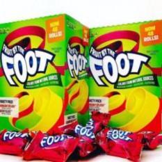 [LẺ 1 CUỘN] Kẹo cuộn Foot vị Berry – hàng xách tay Mỹ