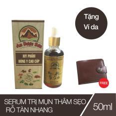 Serum trị mụn thâm sẹo rỗ An Dược Sơn – Chai 50ml (Tặng 01 bóp da Nam)