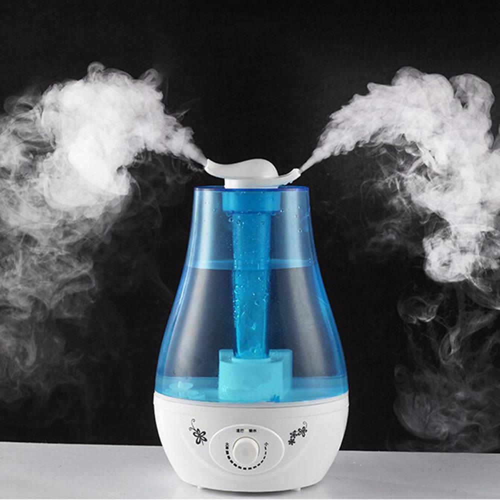 Máy phun sương tạo ẩm loại LỚN (18/21 x Cao 30cm)/ Xông tinh dầu/ Làm mát phòng
