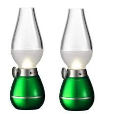 Bộ 2 đèn Thờ cảm ứng, thổi Tắt – Mở