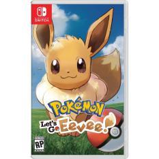 Đĩa game Nintendo Switch : Poke'mon Let's Go Eevee