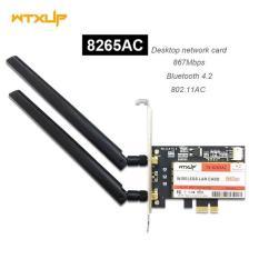 WTXUP Card mạng wifi bluetooth AC PCIE intel 8265AC 867Mbps