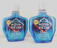 Nước dưỡng sau khi cạo râu Aqua Velva Classic Ice Blue Cooling after shave 207ml – hàng nhập Mỹ