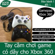 Tay cầm chơi game cho Xbox 360 Có Dây Chơi Game chơi trên laptop, PC / FO3 / FO4