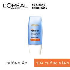 Kem chống nắng dưỡng da sáng trong mịn màng L'Oreal Paris UV Perfect Aqua Essence SPF50+ PA++++ 30ml