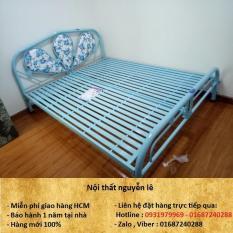 giường sắt đơn 1m2