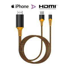 Cáp kết nối Iphone, Ipad với Tivi cổng HDMI – Lightning to HDTV – Hàng cao cấp