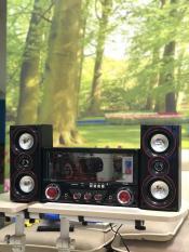 Dàn âm thanh tại nhà – loa vi tính hát karaoke có kết nối Bluetooth USB Isky – SK335U 2.1