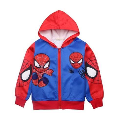 Áo khoác bé trai in hình spiderman A062