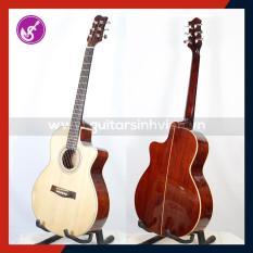 Guitar gỗ Hồng đào full Solid