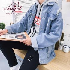Áo khoác denim nam thời trang Angel cao cấp cực hot OT65