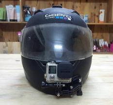 Bộ gắn Gopro, Sjcam vào cằm mũ bảo hiểm Fullface