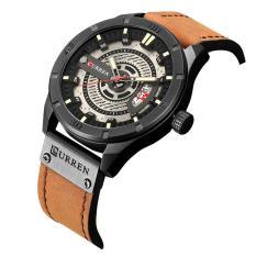 ĐỒNG HỒ NAM CURREN 8301 DÂY DA CAO CẤP +tặng pin đồng hồ