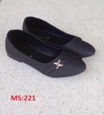 (Có mã miễn ship) Giày nữ, giày búp bê PinkShopGiayDep chất liệu da, êm chân, bền, đẹp – MS:221
