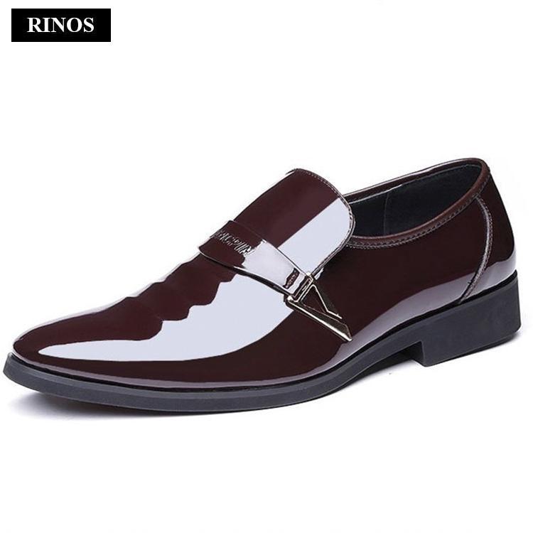 Đánh giá Giày tây nam công sở da bóng RINOS RN52686 Tại RINOS