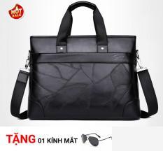 Túi laptop da nam – Phong cách quý ông, Đựng được laptop và nhiều đồ