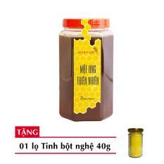 Mật Ong Thiên Nhiên Honeyboy 1Kg Tặng Tinh Nghệ 40G