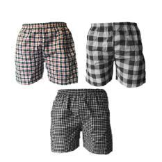 Combo 3 quần đùi mặc nhà nam QDN01 (nhiều màu)
