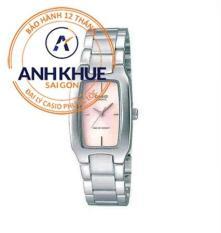 Đồng hồ nữ dây thép không gỉ Casio Anh Khuê LTP-1165A-4CDF