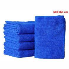 Bộ 5 Khăn tắm cao cấp siêu thấm size to 60x160cm (Màu ngẫu nhiên)