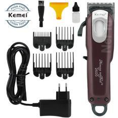 Tông đơ cắt tóc không dây chuyên nghiệp Kemei KM-2600