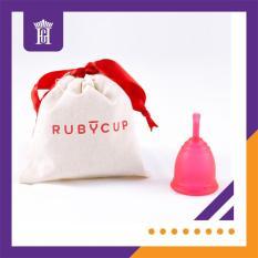 Cốc nguyệt san Ruby Cup, UK (màu Đỏ Size S) – Hàng nhập khẩu chính hãng bởi Công ty Hoàng Gia – Ruby Cup Small Red