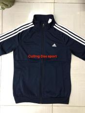 Áo khoác Das thể thao nữ màu xanh dương